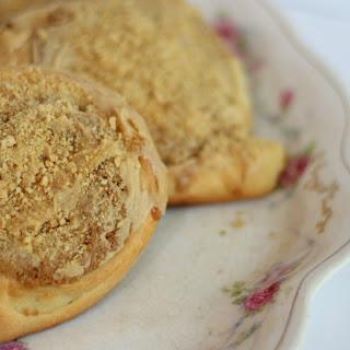 Peanut Butter Sweet Rolls (Whirlamajigs).