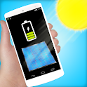 prank solar battery charger icon