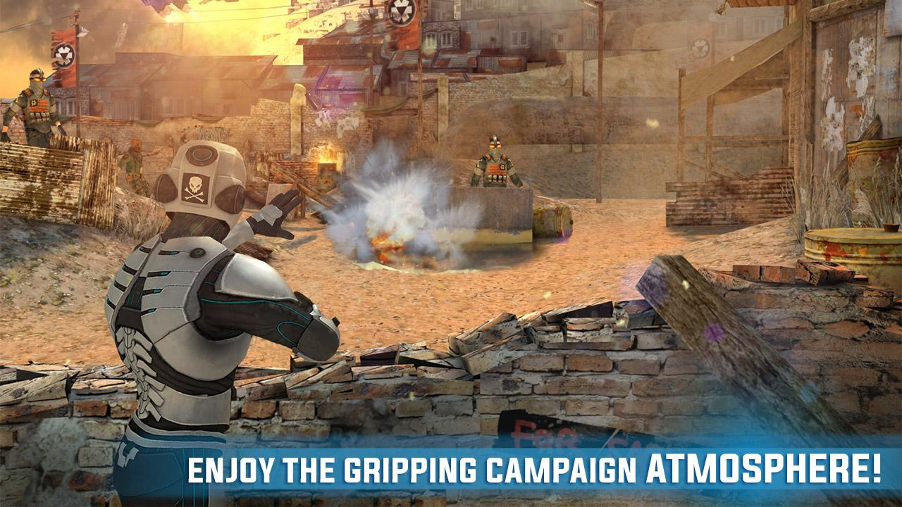 Screenshots of Overkill 3 for iPhone
