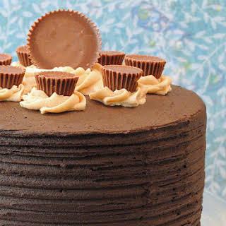 Peanut Butter Explosion Chocolate Cake.