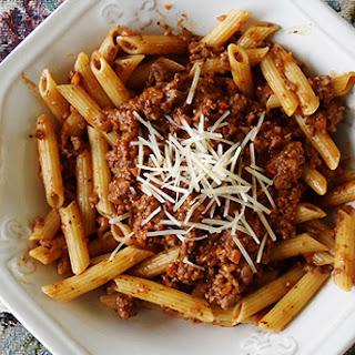 Italian Penne Bolognese Recipes