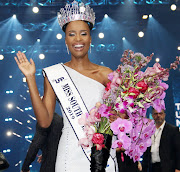 The newly crowned Miss South Africa Zozibini Tunzi.
