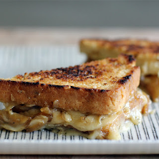 Grilled Beer and Cheese Sandwich.
