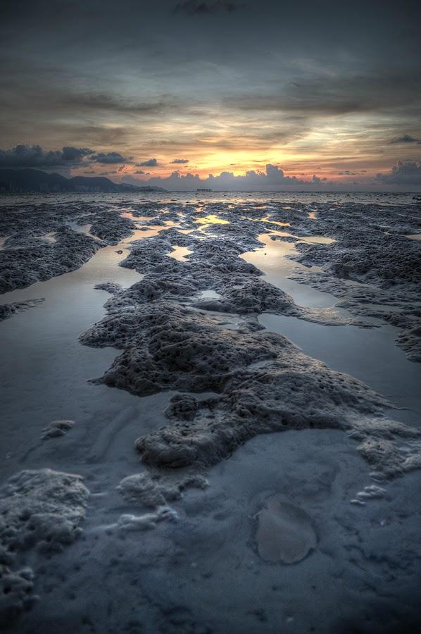 Dusk by Nadzli Azlan - Landscapes Waterscapes