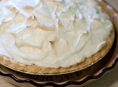 Chocolate Pie Recipe 1929