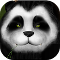 Anime Panda Green Bamboo Theme icon