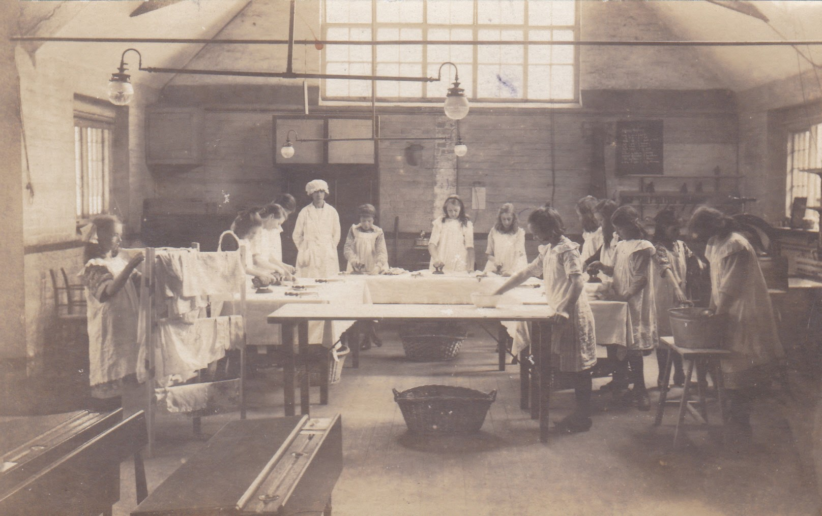 Church of England Laundry Class in Tenterden in 1922