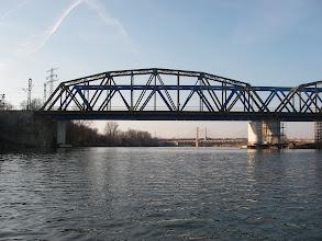 Photo: Most Poznański (z nurtem)