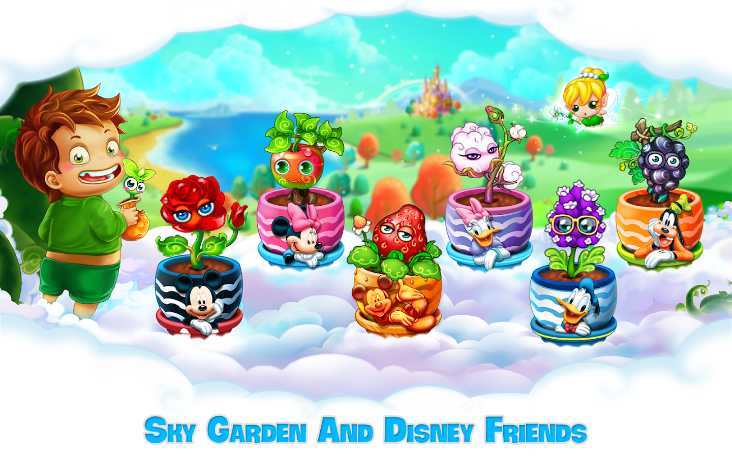 Sky Garden: Farm in Paradise- screenshot