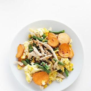 Leftover Thanksgiving Egg Scramble Recipe