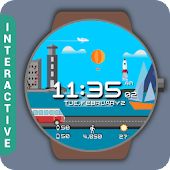 HuskyDEV Sea Bay Watch Face