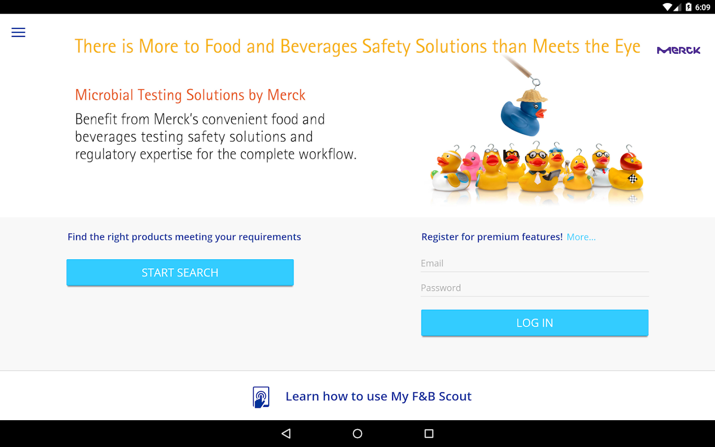 Merck My F&B Scout- screenshot