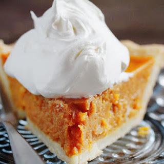 Simple Pumpkin Pie.