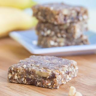 Banana Nut Bread No-Bake Energy Bars