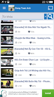 Yokara - Karaoke for Youtube- screenshot thumbnail