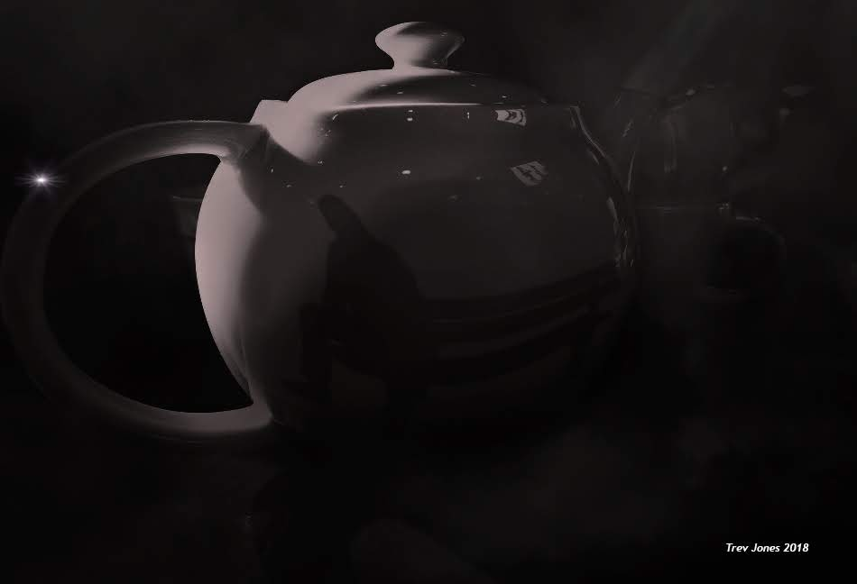 Reflection In A Teapot