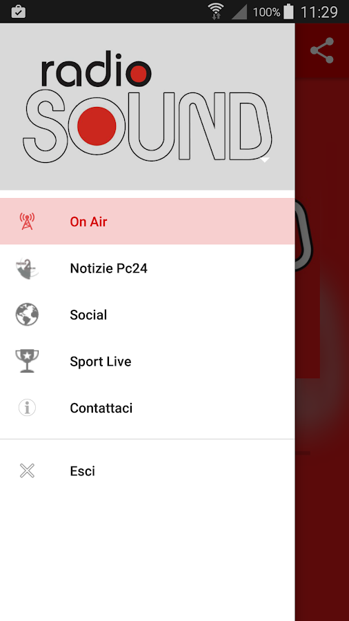 Radio Sound- screenshot