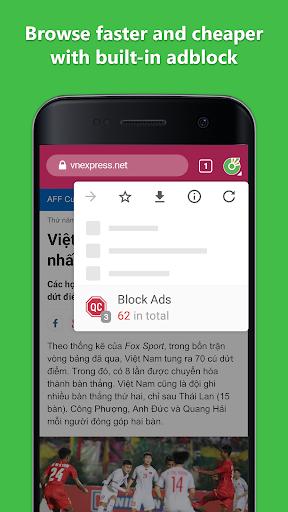 Cốc Cốc Browser 80.0.182 screenshots 2
