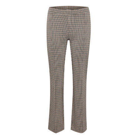 Part Two Pontas pants mini check brown