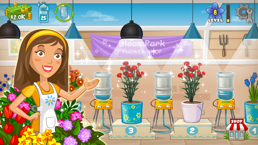 Flower Tycoon: Grow Blooms in your Greenhouse  captures d'u00e9cran 1