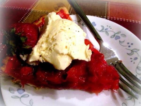 ~ Strawberry - Pineapple Pie ~