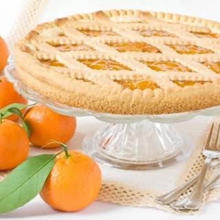 Clementine Marmalade Tart (Crostata)