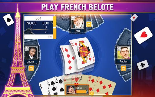 VIP Belote - French Belote Online Multiplayer 3.6.36 screenshots 17