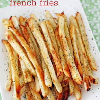 Pickle-Brined French Fries