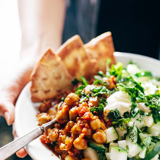 Detox Moroccan-Spiced Chickpea Glow Bowl.