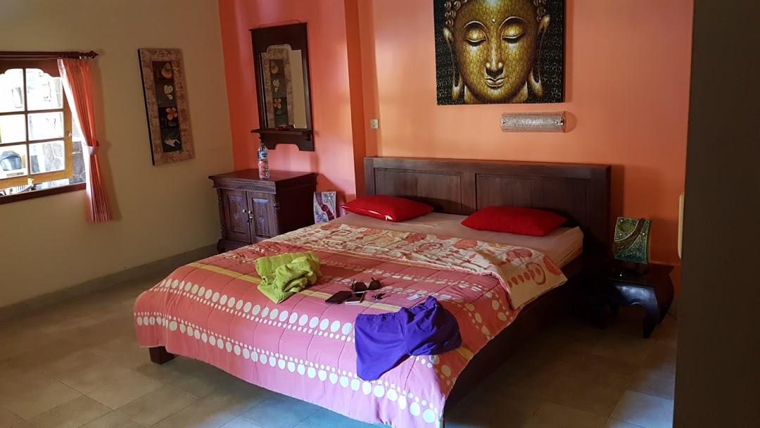 room of kubu pilatus inn in East Bali