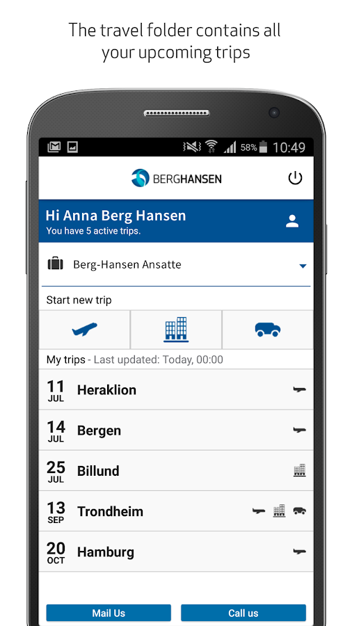 Berg-Hansen- screenshot