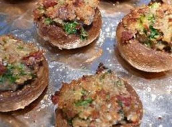 Becky's Stuffed Mushrooms Recipe
