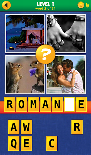 4 Pics 1 Word: Reloaded - screenshot