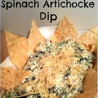 Crock Pot Spinach Artichoke Dip.