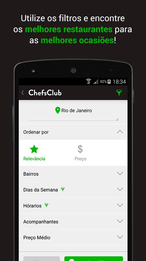 ChefsClub Brazil- screenshot