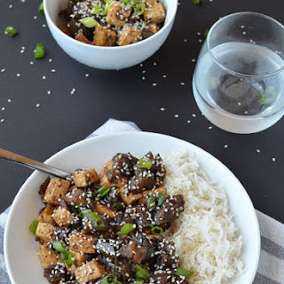 Eggplant Teriyaki Stir Fry with Tofu