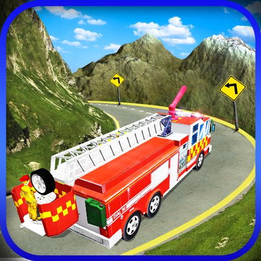 Modern Firefighter:Hill Climb