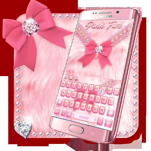 Pink Fur Keyboard