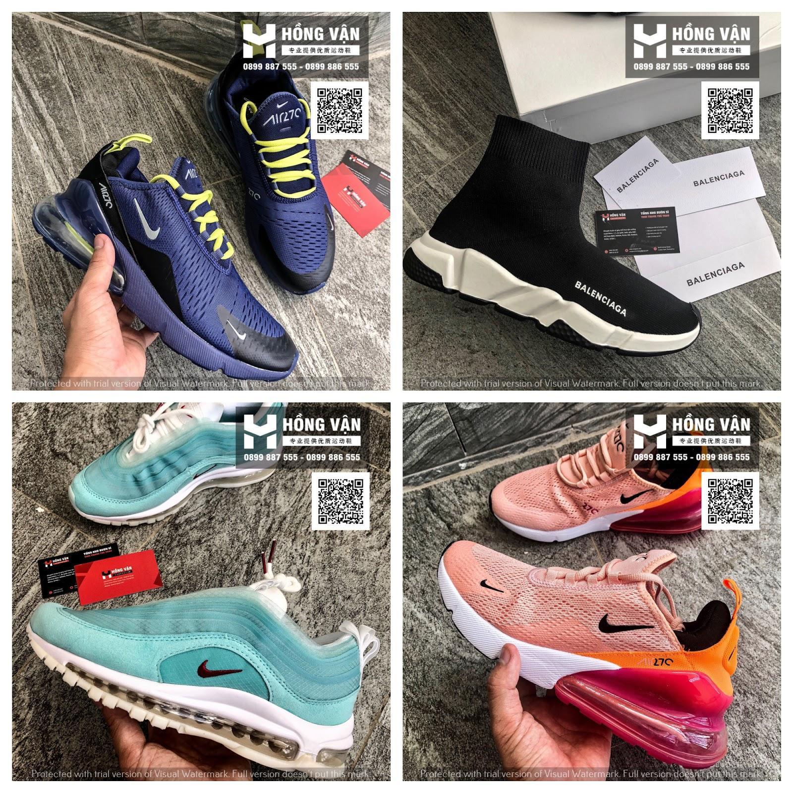 Hồng Vận - Chuyên buôn sỉ giày thể thao uy tín chất lượng, giá cả phải chăng