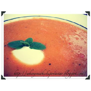 Carrot and Roasted Red Pepper Soup