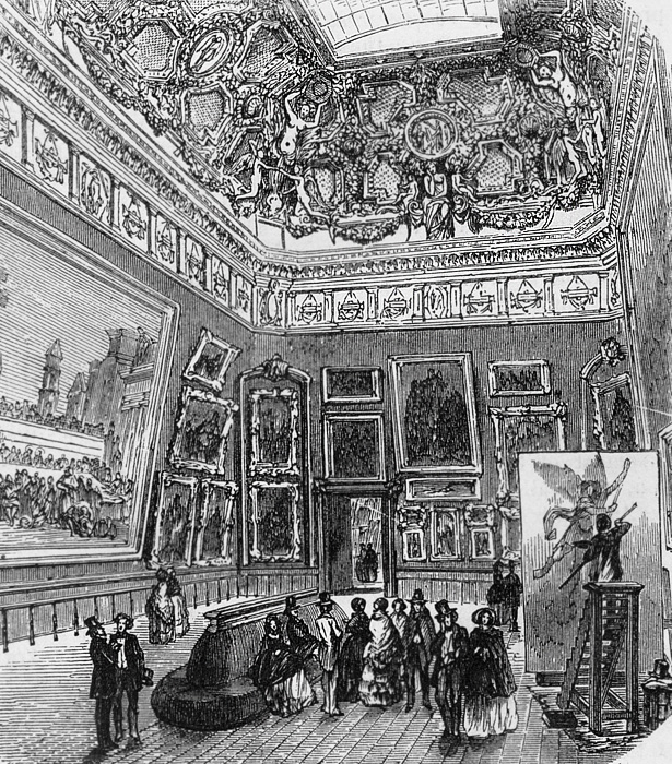 Salon de 1737 paris salon exhibitions 1667 1880 for Salons de paris