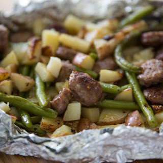 Italian Sausage Tin Foil Dinner Recipe