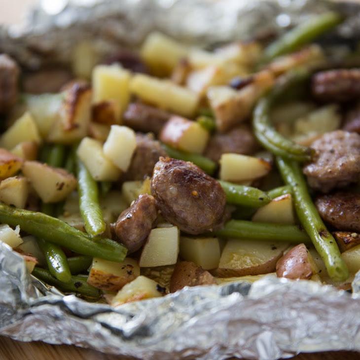 Italian Sausage Tin Foil Dinner