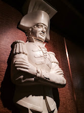 Photo: There were tons of these statues judging everyone in the Lido Deck buffet