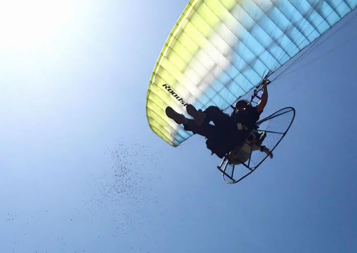 Ever wondered what we get up to on our Paramotor training - Check one of our Videos