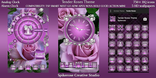 Download Tender Roses theme For PC 2