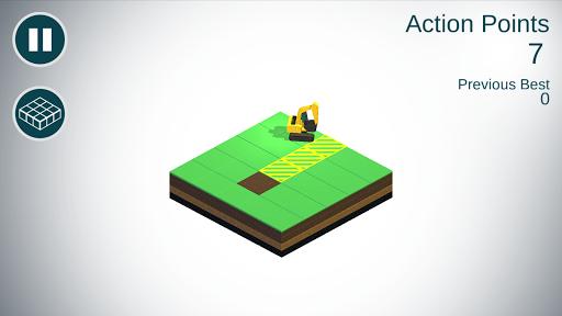 Excavator A CAWP Arcade Game