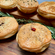 """Pepper Steak 3"""" Party Pie  (Minimum of 3-can mix and match)"""