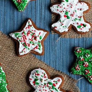 Perfect Vegan Gingerbread Cookies.