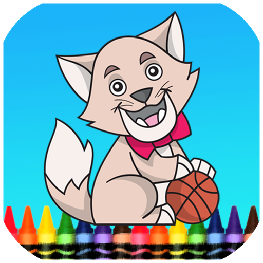 猫狗着色书 休閒 App LOGO-硬是要APP